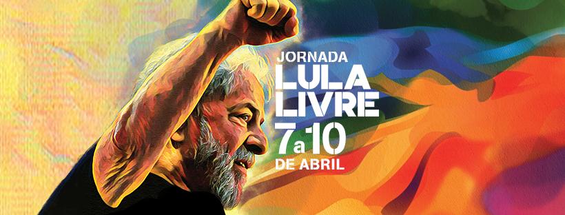 Baixe os materiais da Campanha Lula Livre!