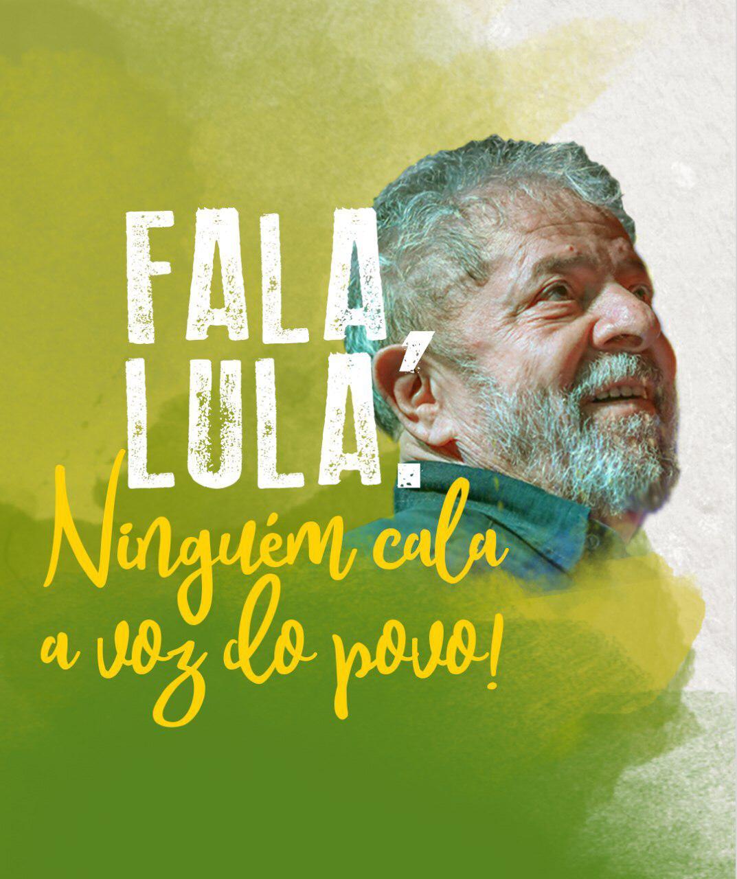 #FalaLula – baixe e use as artes com aspas do Lula