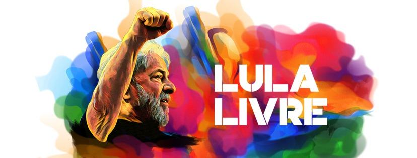 Baixe e compartilhe as artes da Campanha Lula Livre