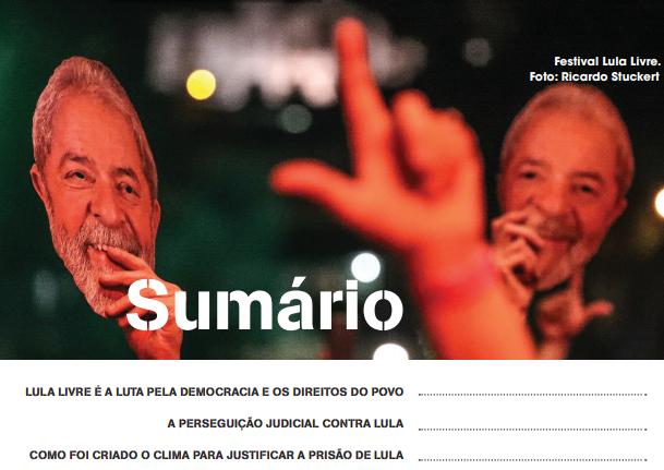 Encontre aqui a Cartilha Lula Livre nas diversas línguas disponíveis