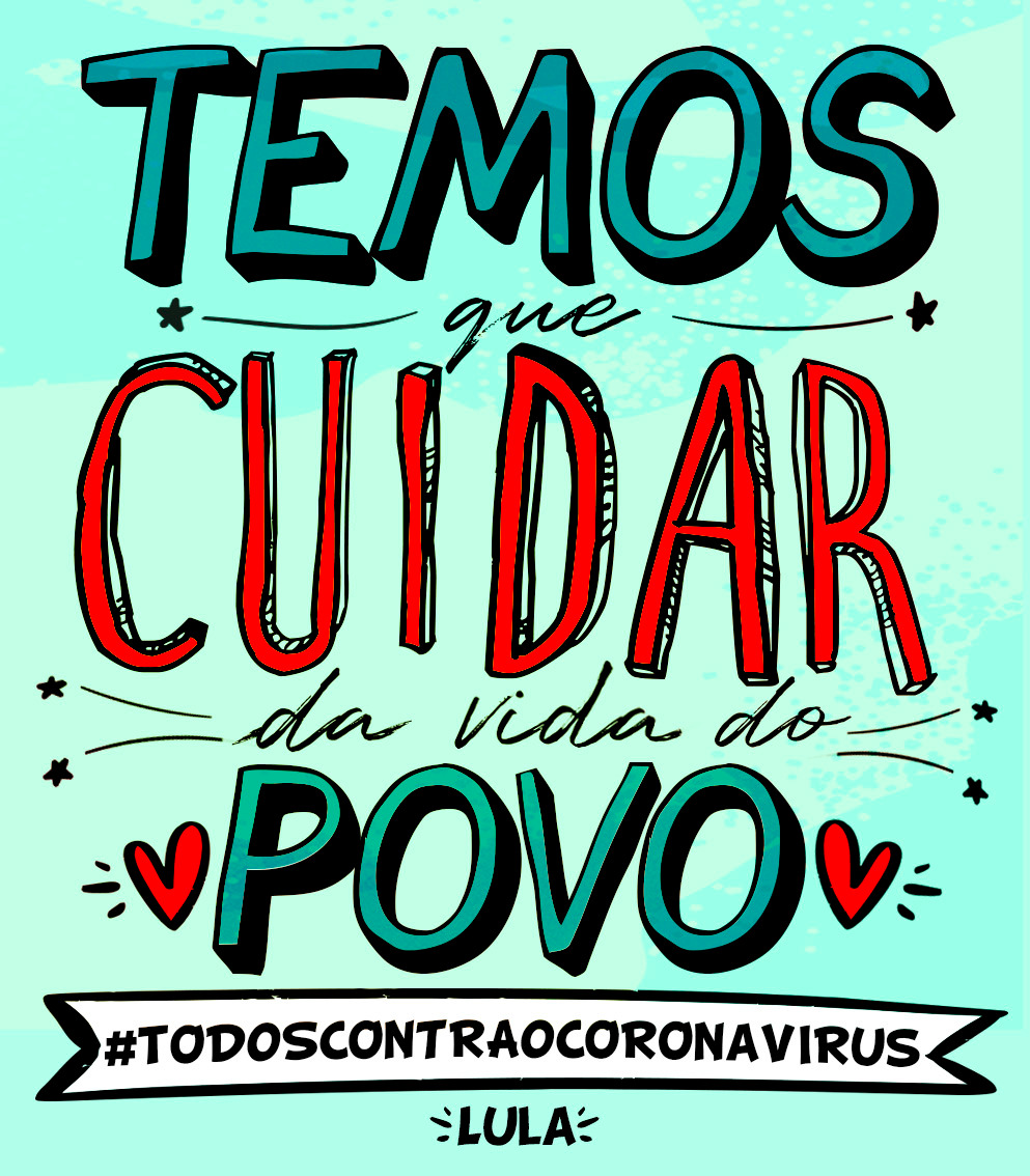 """Bolsonaro é o centro da crise"" – use nas redes as artes das falas do Lula"