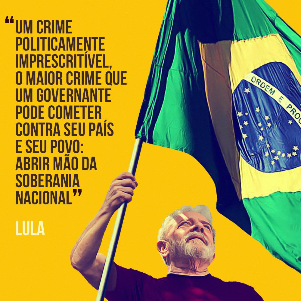 Difunda as artes do histórico discurso do Lula no 7 de setembro [PT/EN/FR/ES]