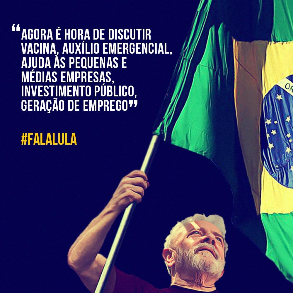 #FalaLula: baixe e difunda as aspas de Lula sobre o Brasil